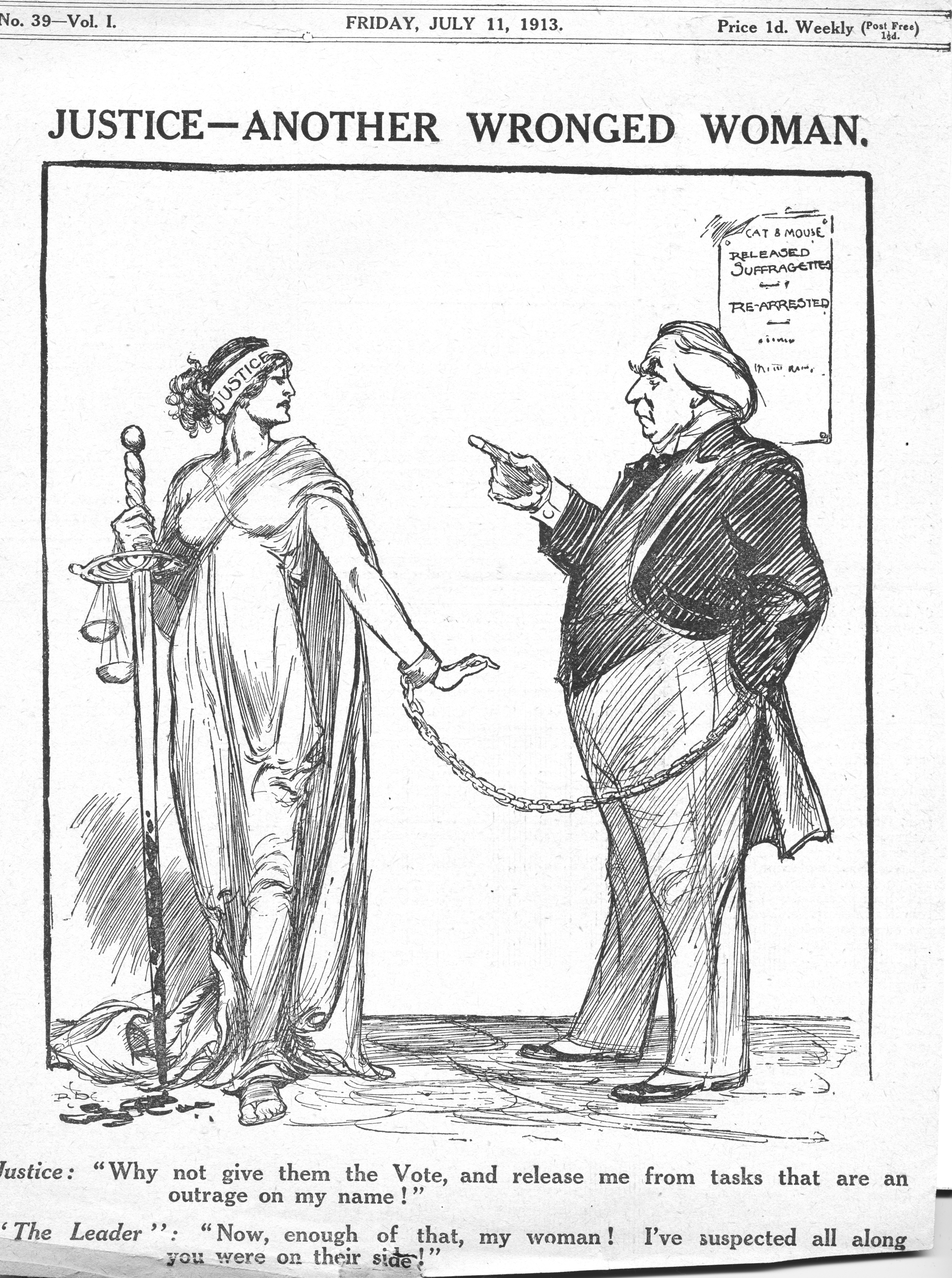 Women and British political cartoonists