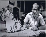 Jim Davis (Creator of Garfield) photograph Image.