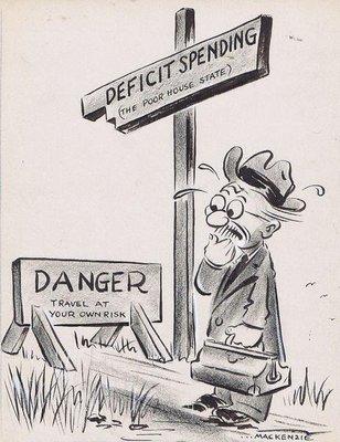 deficit spending cartoon gallery