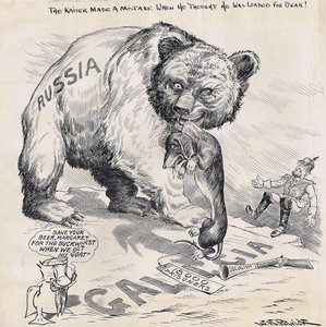 The Kaiser made a mistake when he thought he was loaded for bear!