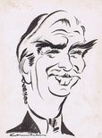 Caricature of Sir Anthony Eden Image.