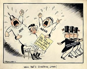 Image result for Balfour Declaration CARTOON