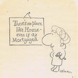 There's no place like home - even if it's mortgaged. Image.