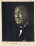 Noel Coward signed photograph Image.