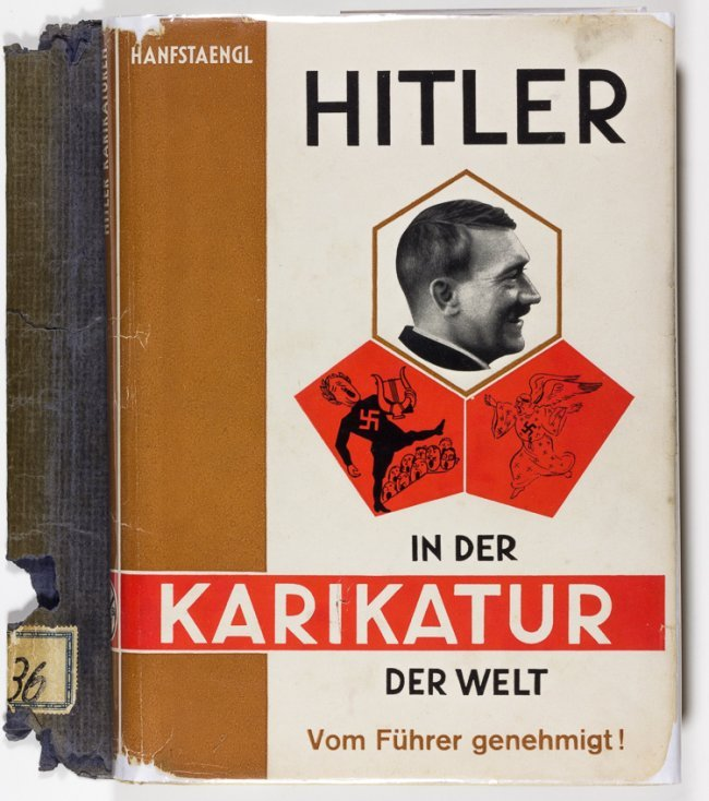 Hitler in World Caricature
