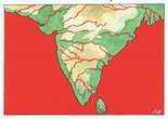 Map of India Image.