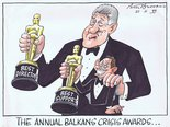 The annual Balkans crisis awards Image.