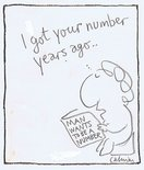 I got your number years ago.. Image.