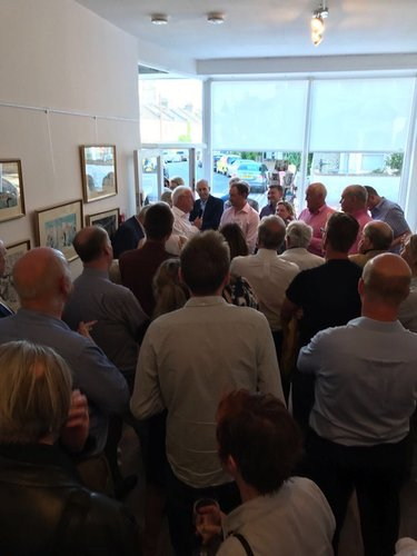 Launch of Giles's War and Carl Giles Cartoon Exhibition