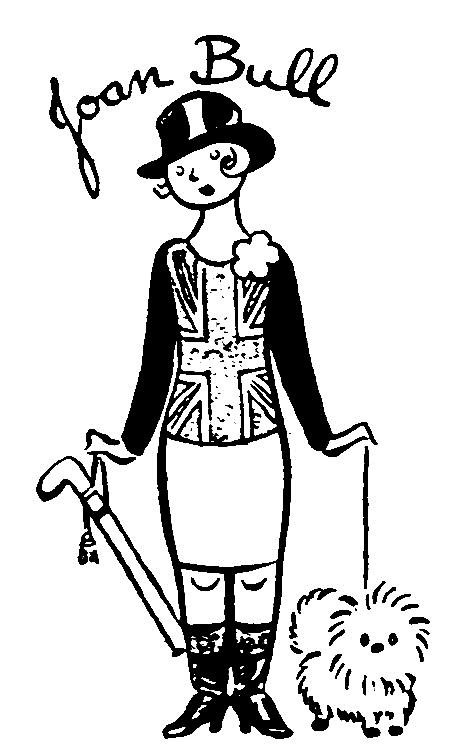women and british political cartoonists Prohibition Signs 1920 right david low s female equivalent to john bull joan bull
