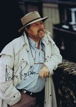 Signed colour photograph of Willie Rushton Image.