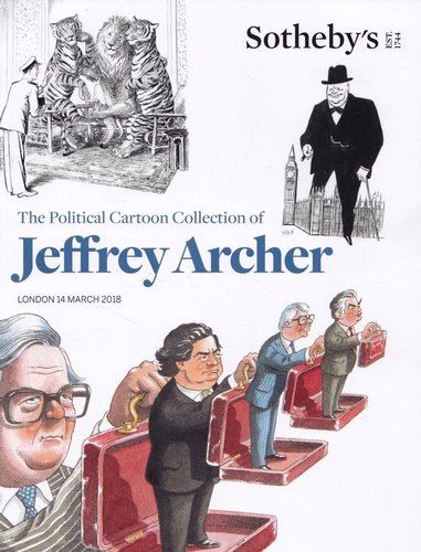 Jeffrey Archer charity cartoon auction: did all the proceeds go to charity as promised?