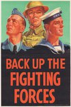 back up the fighting forces Image.
