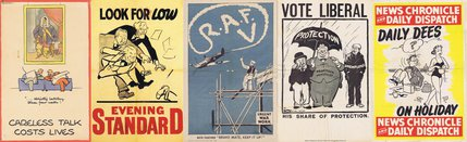 Political and War-Time Posters Image.