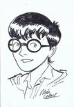 Caricature of Harry Potter Image.