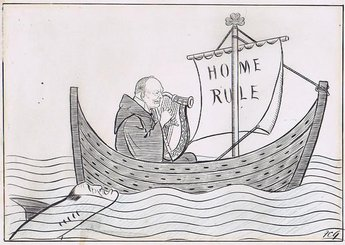 The Harp that once again... Mr Winston Churchill moved the Second Reading of the Home Rule Bill yesterday afternoon.