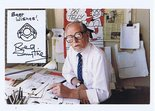 SOLD Reg Smythe signed photograph Image.