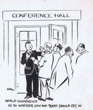 World Conference as to whether Low and Terry should get in. Image.