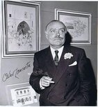 Cartoonist Signed Photographs Image.
