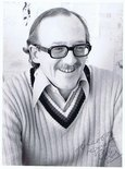 Signed Bill Tidy photograph Image.