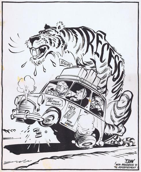 Colvin Neville 1918 1991 Cartoon Gallery