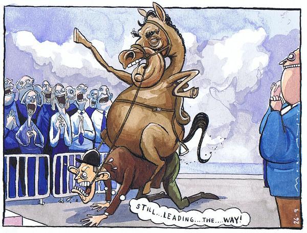 horse racing cartoon. horse racing cartoon.