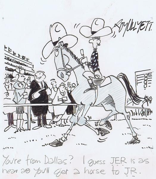 horse racing cartoon. Horse-racing cartoon.